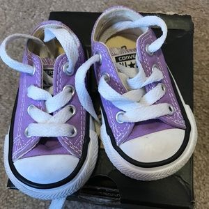 Converse Shoes - Purple converse